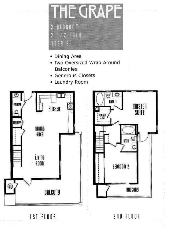 The Lodge Floor Plan The Grape